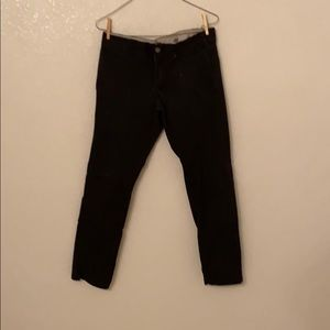 3 black skinny straight dickies pants size 30x30